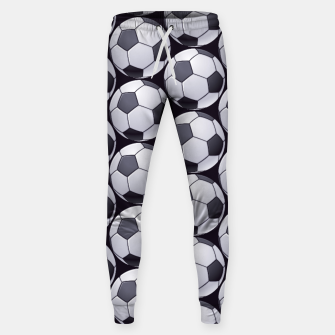 Thumbnail image of Soccer Ball Pattern Sweatpants, Live Heroes