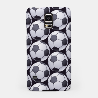 Thumbnail image of Soccer Ball Pattern Samsung Case, Live Heroes