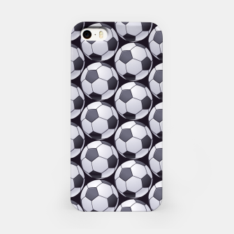 Thumbnail image of Soccer Ball Pattern iPhone Case, Live Heroes