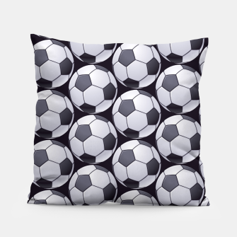 Thumbnail image of Soccer Ball Pattern Pillow, Live Heroes