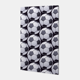 Thumbnail image of Soccer Ball Pattern Canvas, Live Heroes