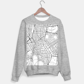 Thumbnail image of Athens, Greece map Sweater regular, Live Heroes