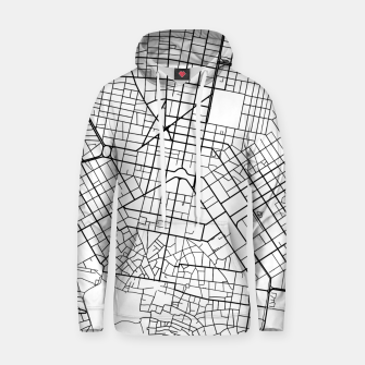 Thumbnail image of Athens, Greece map Hoodie, Live Heroes
