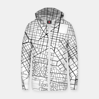 Thumbnail image of Athens, Greece map Zip up hoodie, Live Heroes