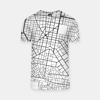 Thumbnail image of Athens, Greece map T-shirt, Live Heroes
