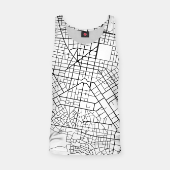 Thumbnail image of Athens, Greece map Tank Top, Live Heroes