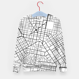 Thumbnail image of Athens, Greece map Kid's sweater, Live Heroes