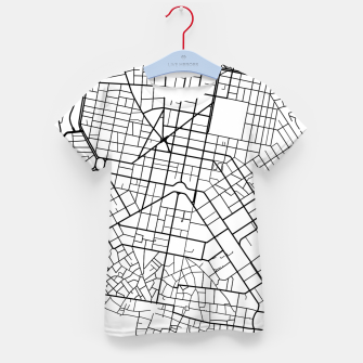Thumbnail image of Athens, Greece map Kid's t-shirt, Live Heroes