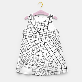 Thumbnail image of Athens, Greece map Girl's summer dress, Live Heroes