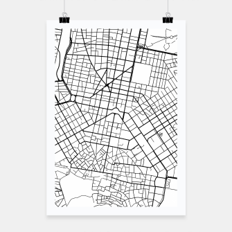 Thumbnail image of Athens, Greece map Poster, Live Heroes