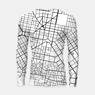 Thumbnail image of Athens, Greece map Longsleeve rashguard , Live Heroes