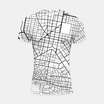 Thumbnail image of Athens, Greece map Shortsleeve rashguard, Live Heroes