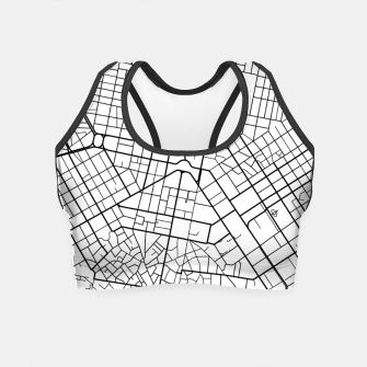 Thumbnail image of Athens, Greece map Crop Top, Live Heroes