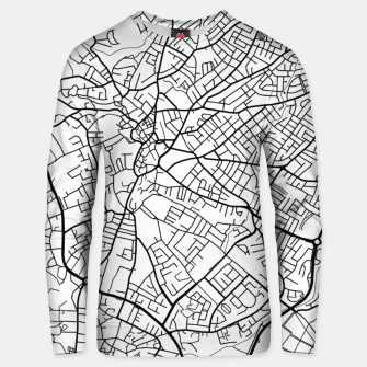 Thumbnail image of Paphos Cyprus map Unisex sweater, Live Heroes