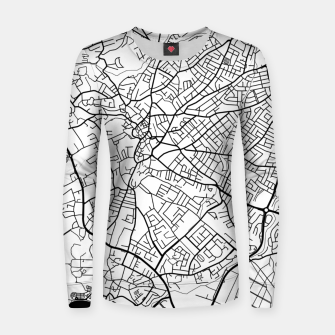 Thumbnail image of Paphos Cyprus map Women sweater, Live Heroes
