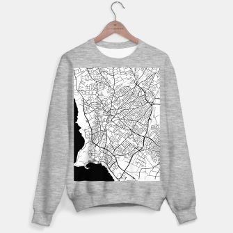 Thumbnail image of Paphos Cyprus map Sweater regular, Live Heroes