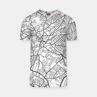 Thumbnail image of Paphos Cyprus map T-shirt, Live Heroes