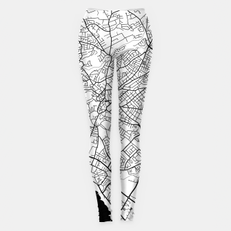Thumbnail image of Paphos Cyprus map Leggings, Live Heroes