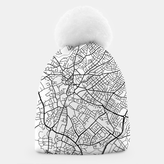 Thumbnail image of Paphos Cyprus map Beanie, Live Heroes