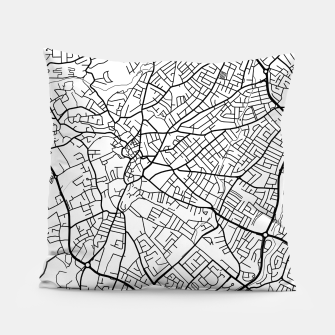 Thumbnail image of Paphos Cyprus map Pillow, Live Heroes
