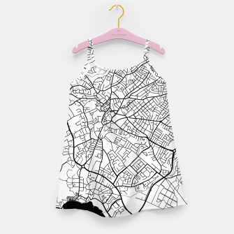Thumbnail image of Paphos Cyprus map Girl's dress, Live Heroes