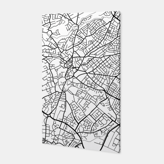 Thumbnail image of Paphos Cyprus map Canvas, Live Heroes