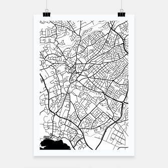 Miniaturka Paphos Cyprus map Poster, Live Heroes