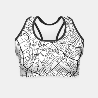 Thumbnail image of Paphos Cyprus map Crop Top, Live Heroes