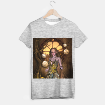 Miniature de image de Wonderful steampunk girl T-shirt regular, Live Heroes