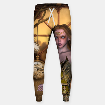 Miniature de image de Wonderful steampunk girl Sweatpants, Live Heroes