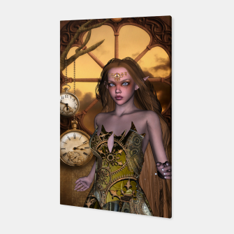 Miniature de image de Wonderful steampunk girl Canvas, Live Heroes