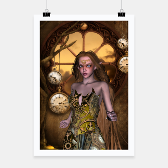Miniature de image de Wonderful steampunk girl Poster, Live Heroes