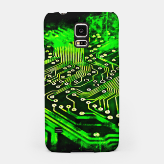 Thumbnail image of gxp platine board conductor tracks splatter watercolor Samsung Case, Live Heroes