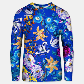 Thumbnail image of Surreal Floral Botanical Unisex sweater, Live Heroes
