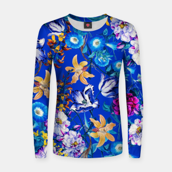 Miniature de image de Surreal Floral Botanical Women sweater, Live Heroes