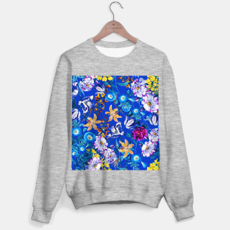 Miniature de image de Surreal Floral Botanical Sweater regular, Live Heroes