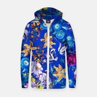 Miniature de image de Surreal Floral Botanical Zip up hoodie, Live Heroes