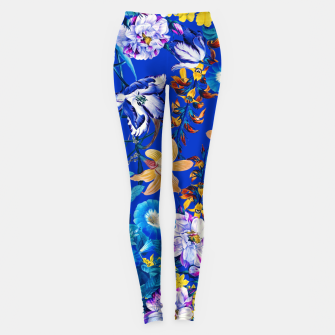 Miniature de image de Surreal Floral Botanical Leggings, Live Heroes