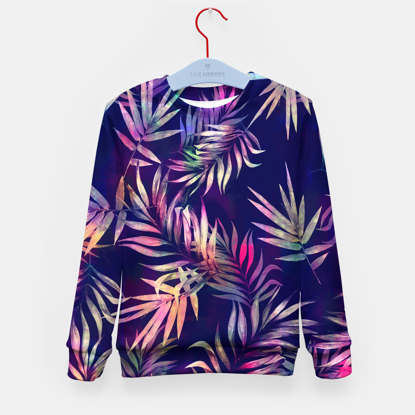 Foto Tropical Infusion Kid's sweater - Live Heroes
