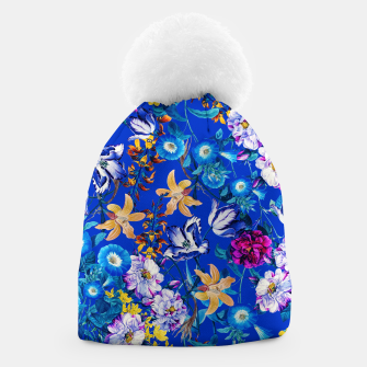 Thumbnail image of Surreal Floral Botanical Beanie, Live Heroes
