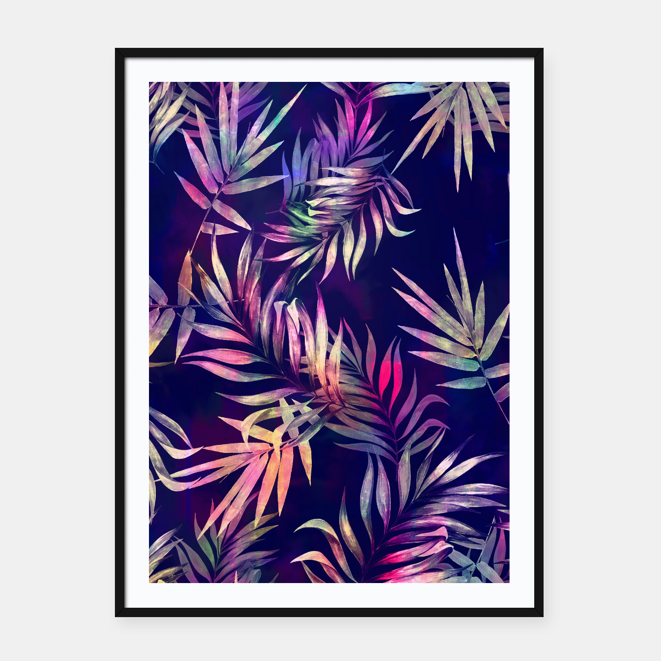 Foto Tropical Infusion Framed poster - Live Heroes
