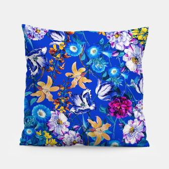 Miniature de image de Surreal Floral Botanical Pillow, Live Heroes