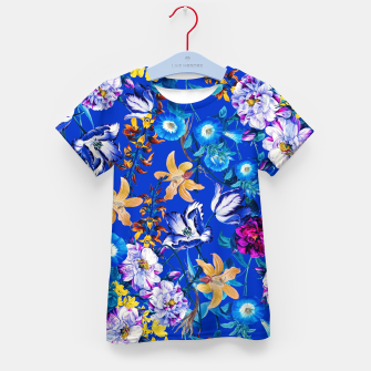 Miniature de image de Surreal Floral Botanical Kid's t-shirt, Live Heroes