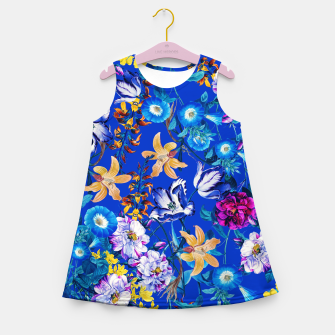 Miniature de image de Surreal Floral Botanical Girl's summer dress, Live Heroes