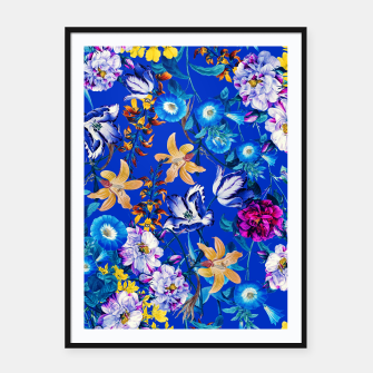 Thumbnail image of Surreal Floral Botanical Framed poster, Live Heroes