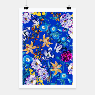 Thumbnail image of Surreal Floral Botanical Poster, Live Heroes