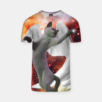 Thumbnail image of Fly Cat Tshirt, Live Heroes