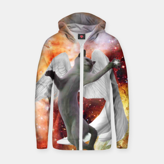 Thumbnail image of Fly Cat Hoodie, Live Heroes