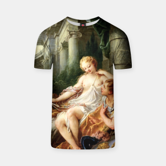Thumbnail image of Rinaldo and Armida by François Boucher T-shirt, Live Heroes