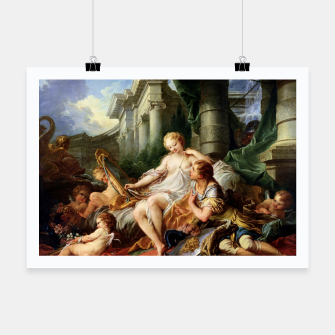 Thumbnail image of Rinaldo and Armida by François Boucher Poster, Live Heroes